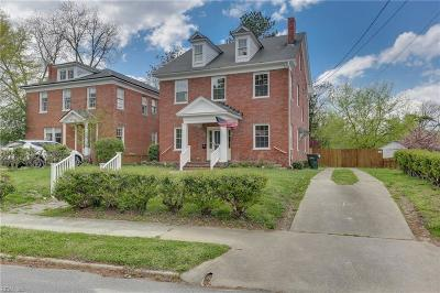 Suffolk Single Family Home New Listing: 227 N Saratoga St