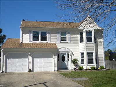 Virginia Beach Single Family Home New Listing: 2401 Creekmore Ct