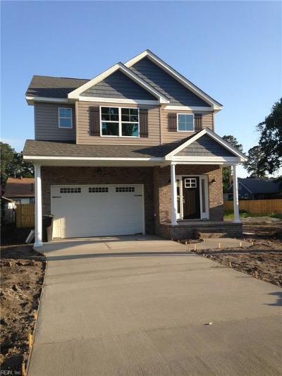 Portsmouth Single Family Home New Listing: 3227 Armistead Dr