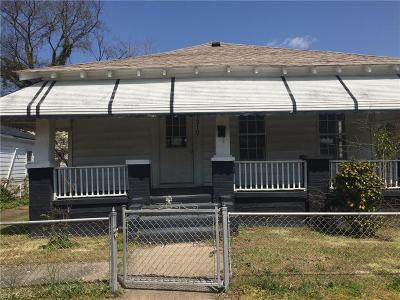 Portsmouth Single Family Home New Listing: 1310 Centre Ave