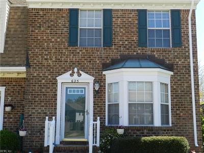 Chesapeake Single Family Home New Listing: 625 Sedgefield Ct