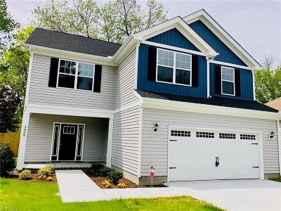 Norfolk Single Family Home New Listing: 2709 Keller Ave