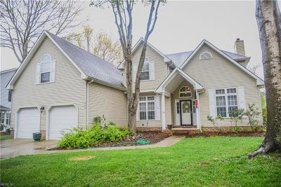 Virginia Beach Single Family Home New Listing: 859 Park Place Dr