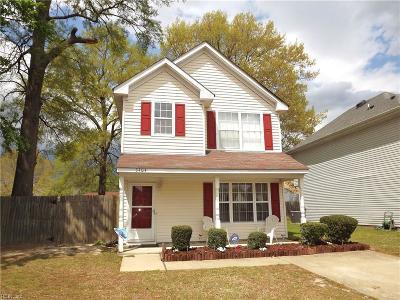 Chesapeake Single Family Home New Listing: 3404 Bangor Ct