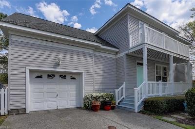 Virginia Beach Single Family Home New Listing: 3800 Long Ship Ct