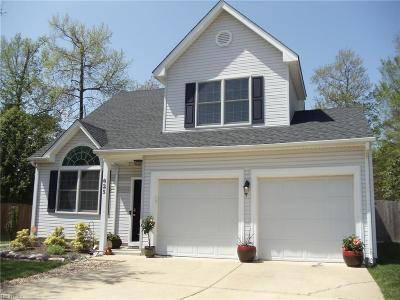 Chesapeake Single Family Home New Listing: 625 Windward Dr