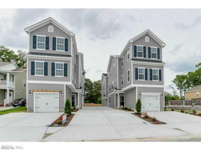 Virginia Beach Single Family Home Under Contract: 920 13th St