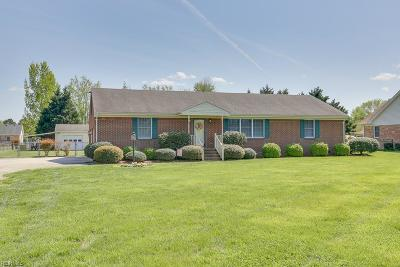 Suffolk Single Family Home New Listing: 969 Kings Fork Rd