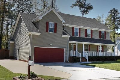 Chesapeake Single Family Home New Listing: 535 Lake Crest Dr
