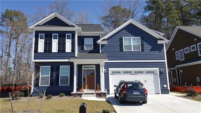 Chesapeake Single Family Home New Listing: Mm 505 Hickory Lndg