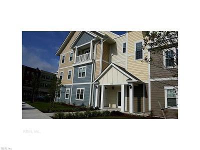 Chesapeake Single Family Home New Listing: 1016 Thoroughgood Way #100