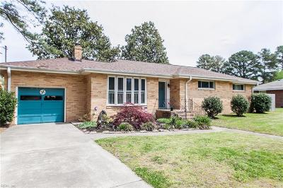 Portsmouth Single Family Home New Listing: 4732 Viola Ter