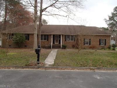Chesapeake Single Family Home New Listing: 4900 Condor Dr