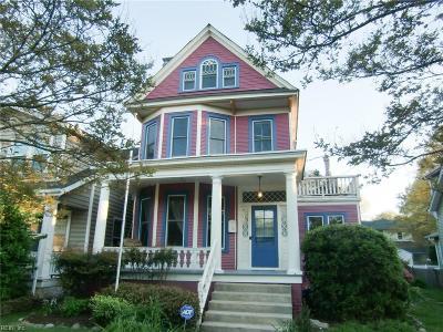 Norfolk Single Family Home New Listing: 511 New York Ave