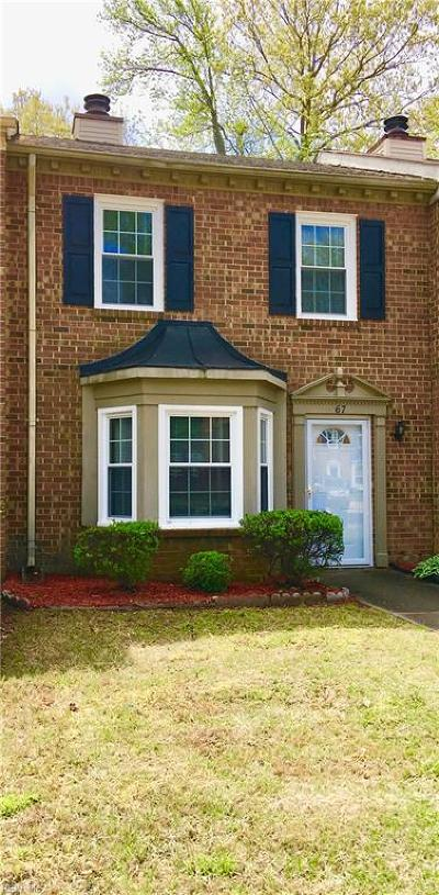 Chesapeake Single Family Home New Listing: 67 Colonial Way