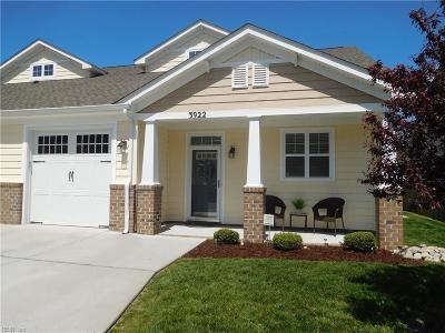 Chesapeake Single Family Home New Listing: 3922 Rex Cir