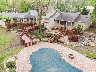Virginia Beach Single Family Home New Listing: 1413 W Little Neck Rd