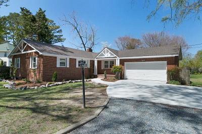 Virginia Beach Single Family Home New Listing: 4528 Powells Point Rd