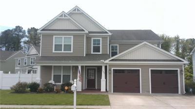 Chesapeake Single Family Home New Listing: 703 Albertine Ct