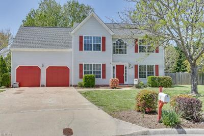 Chesapeake Single Family Home New Listing: 1224 Woodstream Ct