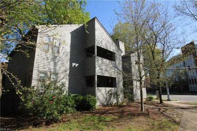 Norfolk Single Family Home New Listing: 808 Colley Ave #4B