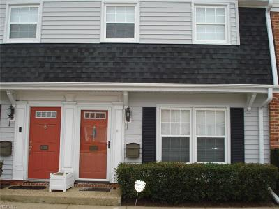 Norfolk Single Family Home New Listing: 8535 Tidewater Dr #F