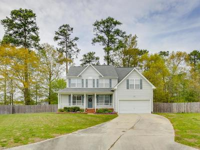 Chesapeake Single Family Home New Listing: 910 Staffordshire Ct