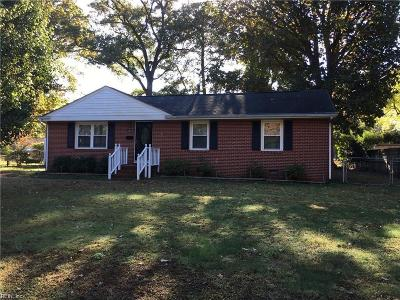Hampton Single Family Home New Listing: 4023 Hazelwood Rd