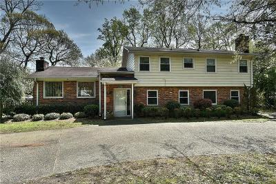 Virginia Beach Single Family Home New Listing: 1320 Rolfe Ln