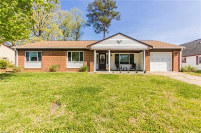 Chesapeake Single Family Home New Listing: 4620 Helensburgh Dr