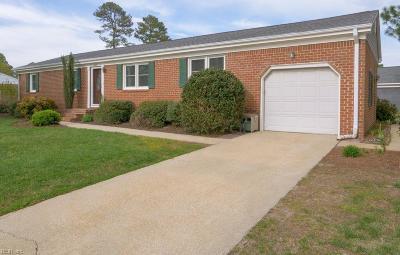 Chesapeake Single Family Home New Listing: 449 Fairfield Dr