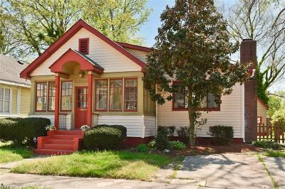 Norfolk Single Family Home New Listing: 1013 W 36th St