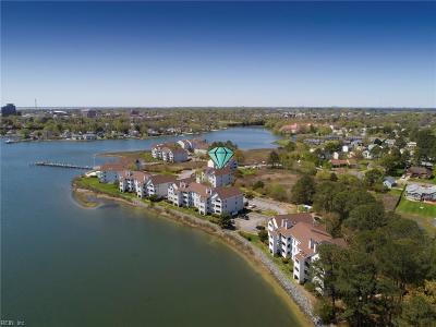 Hampton Single Family Home New Listing: 227 Dockside Dr #B