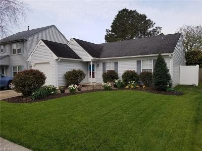 Virginia Beach Single Family Home New Listing: 1849 Haviland Dr