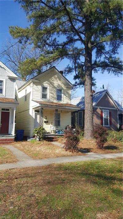 Portsmouth Single Family Home New Listing: 408 Maryland Ave