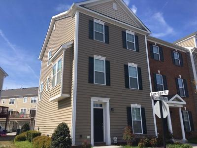 Virginia Beach Single Family Home New Listing: 4801 Carnelian Way