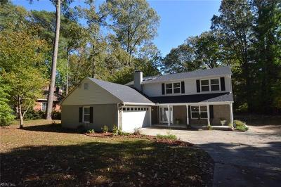 Virginia Beach Single Family Home New Listing: 622 Pinetree Dr