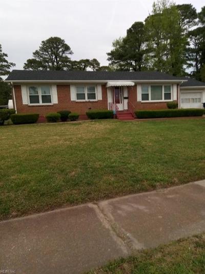 Portsmouth Single Family Home New Listing: 1112 Roosevelt Blvd