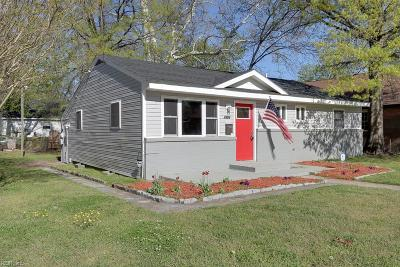 Portsmouth Single Family Home New Listing: 1301 Piedmont Ave