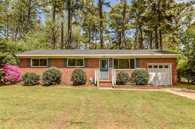 Virginia Beach Single Family Home New Listing: 5608 Sedgemoor Rd