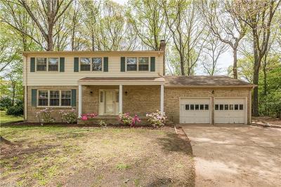 Virginia Beach Single Family Home New Listing: 6305 Dickinson Way