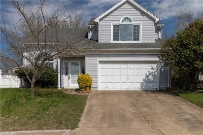 Virginia Beach Single Family Home New Listing: 2208 Fort Belvoir Dr