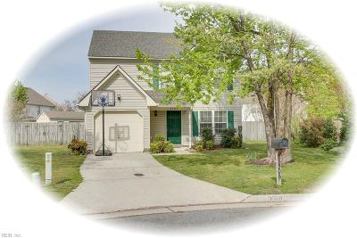 Suffolk Single Family Home New Listing: 3506 Cantering Ct