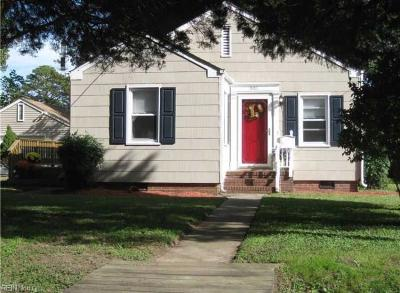 Portsmouth Single Family Home New Listing: 901 Martin Ave