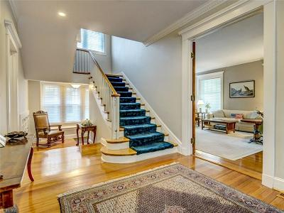 Norfolk Single Family Home New Listing: 1201 Stockley Gdns