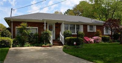 Virginia Beach Single Family Home New Listing: 4828 Bromfield Ave
