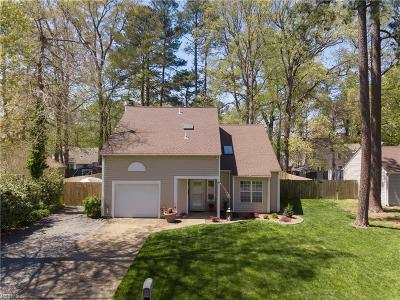 Newport News Single Family Home New Listing: 173 Little John Pl