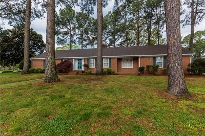 Portsmouth Single Family Home Under Contract: 3705 Shoreline Dr