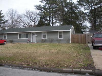 Virginia Beach Single Family Home New Listing: 616 S Westgrove Rd