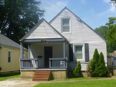 Hampton Single Family Home New Listing: 237 Piedmont Ave